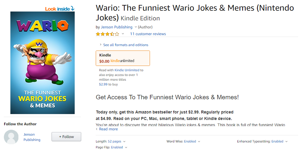 Does Anyone Have a Kindle Unlimited Subscription? | Wario Forums
