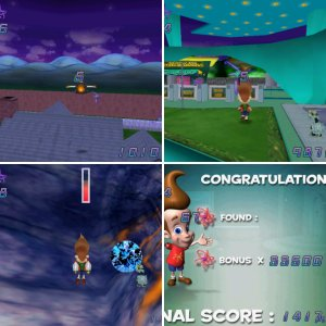 Jimmy Neutron Boy Genius PC Screenshots!