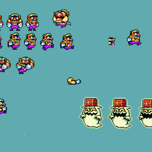 Unfinished Wario Sprites