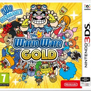 WarioWare Gold Box Art (European Version)
