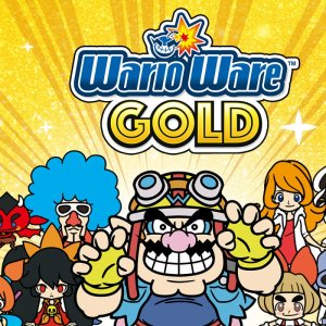 WarioWare Gold Alt Key Artwork
