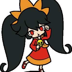 Ashley from WarioWare Gold (Alt)