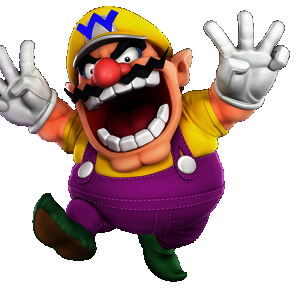 Wario. Alternative Skin (Wario Land)